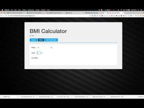 BMI Calculator - AngularJS