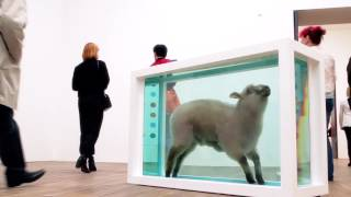 Damien Hirst at Tate Modern: Away from the Flock