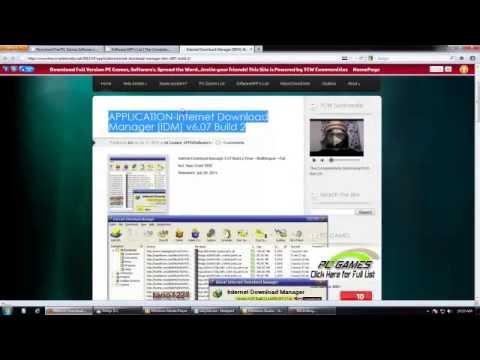Download Internet Download Manager [IDM] v6.07 Full Version Free! [Mediafire]