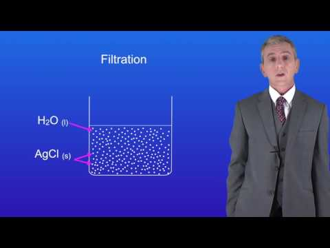 GCSE Science Chemistry (9-1) Filtration and Crystallisation