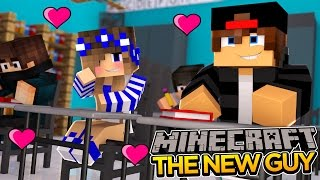 Minecraft School-The New Guy-LITTLE CARLY HAS A CRUSH!!