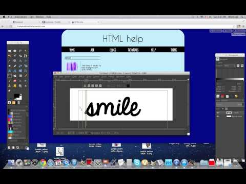 How to make a simple gradient transparent banner on GIMP