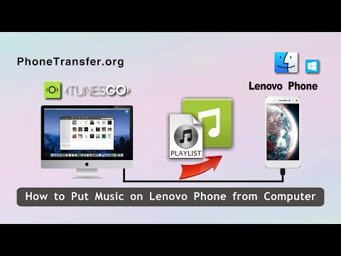 How to Put Songs on Lenovo Phone from Computer