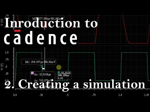 Intro to Cadence 2: Creating a Simulation and Testbench