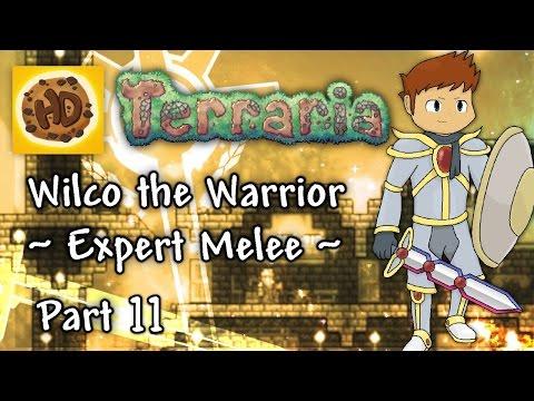 Terraria 1.3 Expert Melee Part 11: Skeletron Prime & Commander Battle?! (1.3 warrior playthrough)