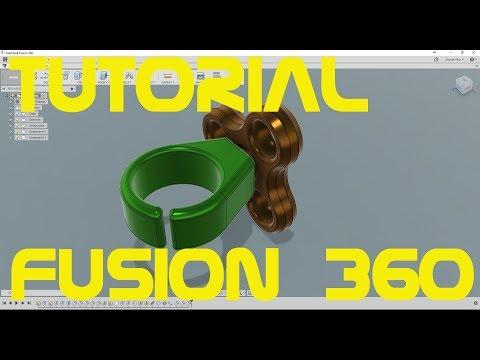 Ring Fidget Spinner in Fusion360 Tutorial