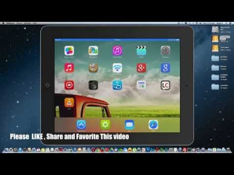 How To Transfer Movie Files from computer to iPhone,iPad,iPod Touch or any iOS devices 2015 edition