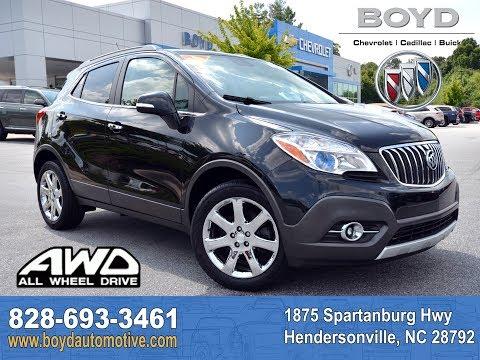 2014 Buick Encore Hendersonville NC U7672