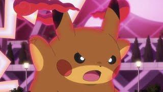 UK: GIGANTAMAX Pikachu | Pokémon Journeys | Official Clip