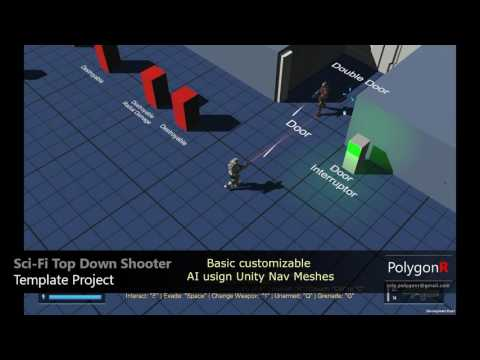 PolygonR - Sci Fi Top Down Shooter Game Template 1.0