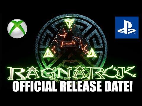 ARK RAGNAROK XBOX/PS4 RELEASE DATE! - HUGE NEW UPDATE! - ARK NEWS!