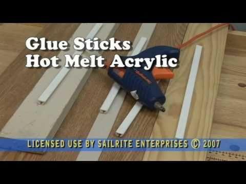 Uses for Acrylic Glue Sticks - for Hot Glue Gun