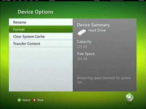 How to delete patches for any game on Xbox 360