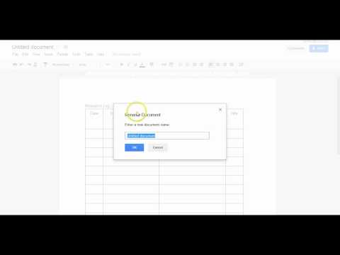 create/share google folder & doc