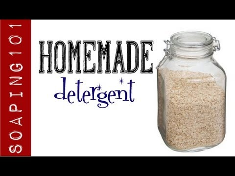 How to Make Homemade Laundry Soap & Detergent (+ stain sticks} S2W12