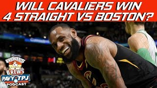 Will Cavaliers Win 4 Straight vs Boston Celtics ? | Hoops N Brews