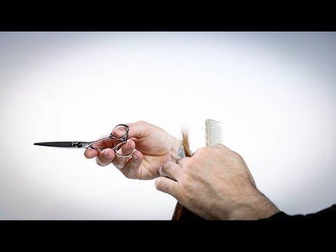 How To Point Cut Hair | MATT BECK VLOG S2 #23