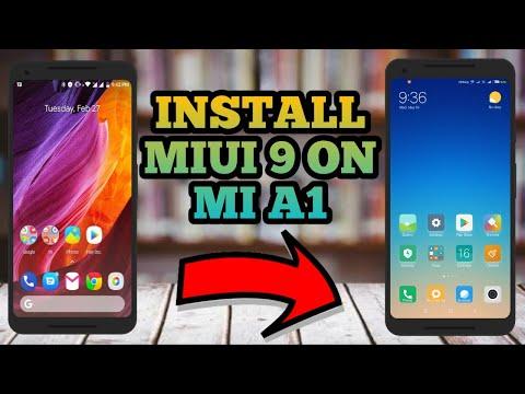 mi a1 miui port   MIUI 9 Port For Mi A1 First Look