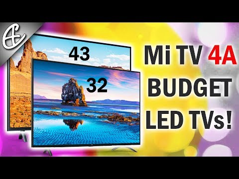 Xiaomi Mi TV 4A From 13999 Rupees - 43 & 32 Inches