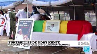 Funérailles du chanteur et musicien guinéen Mory Kanté : les griots lui rendent hommage