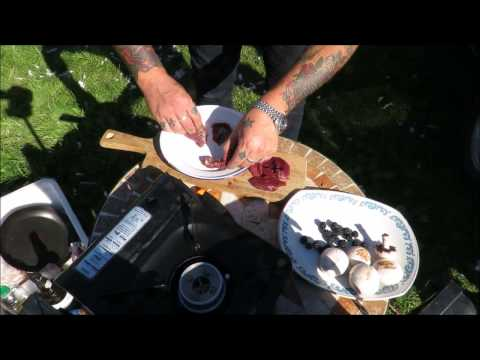 How To Prepare And Cook Wood Pigeon.Field To Fork #SRP