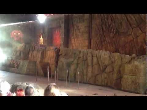 Walt Disney world -Indiana Jones Stunt Show -Hollywood Studios part 1/2 1080p HD