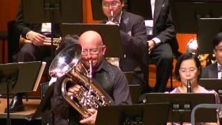 Hong Kong Tak Ming Philharmonic Society Hong Kong Tak Ming Philharmonic Winds Annual Concert Euphonium Soloist :Steven MEAD Conductor: PAK Wing Heng Place: Tsuen Wan Town Hall ,Hong Kong Date:2010/12/28