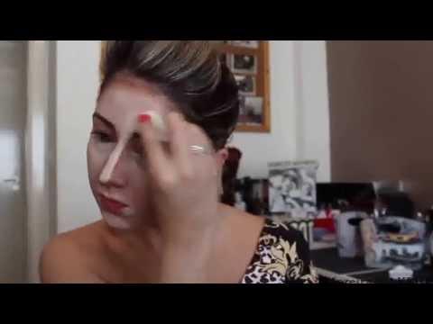 Maquiagem Corretiva com efeito de luz e sombra inspirada na Kim Kardashian