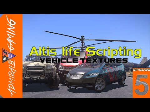 [HOWTO] Altis life Scripting Vehicle textures
