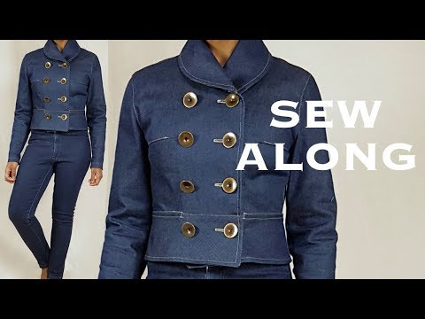 Making a Denim Jacket (Sew Along)