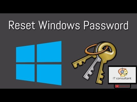 RESET ADMINISTRATOR PASSWORD FOR EVERY WINDOWS