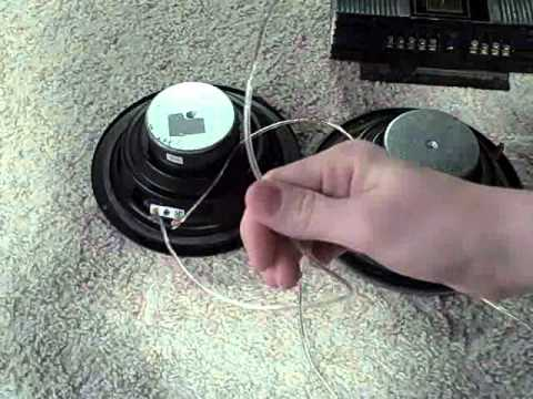 how to wire speakers in series