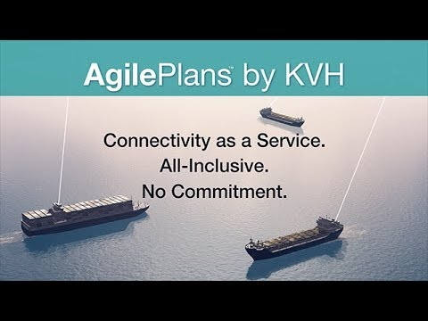 KVH AgilePlans HTS - Connectivity as a Service (CaaS) NEW