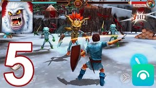 Beast Quest - Gameplay Walkthrough Part 5 - Nanook World: Krazbal (iOS, Android)