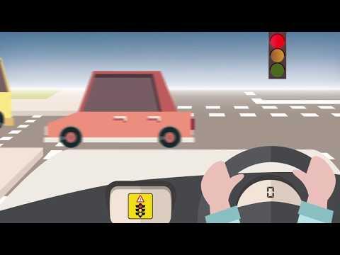 CAVI: Red light warning (V2I)