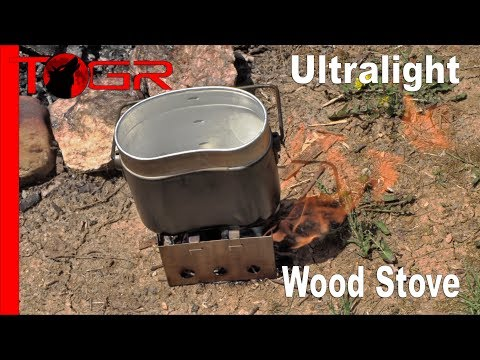 Bushcraft Perfect and Ultralight - 180 Flame Wood Stove - Review