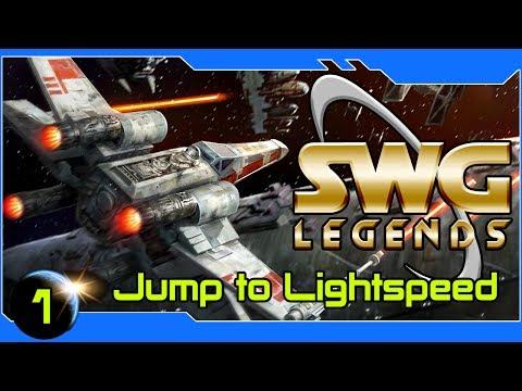 SWG: Legends  - Jump To Lightspeed! Piloting in SWG