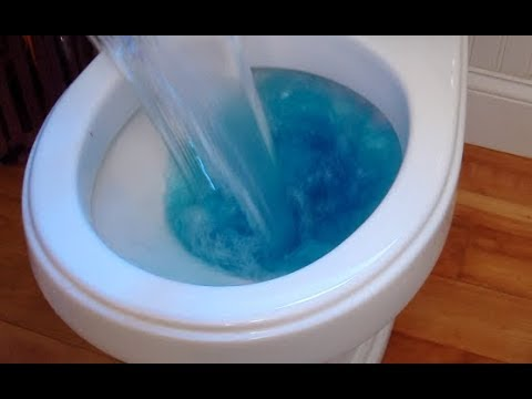 How to Unclog a Toilet Using Water