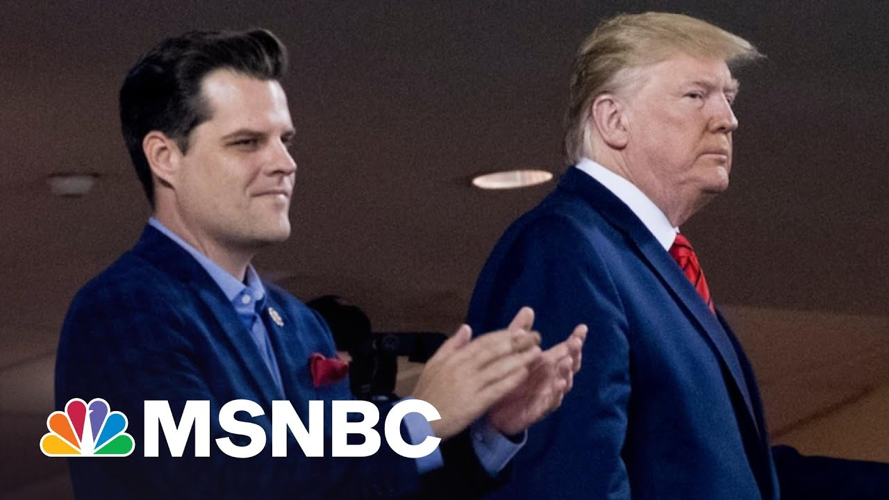 Gaetz Wrote About Getting Calls From Trump While Having Sex | The 11th Hour | MSNBC