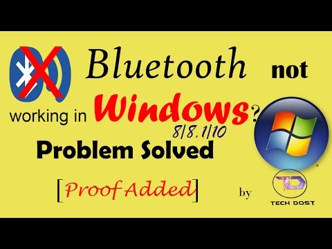 [Hindi]Bluetooth not working in win 10/8/8.1? Problem solved with Proof.