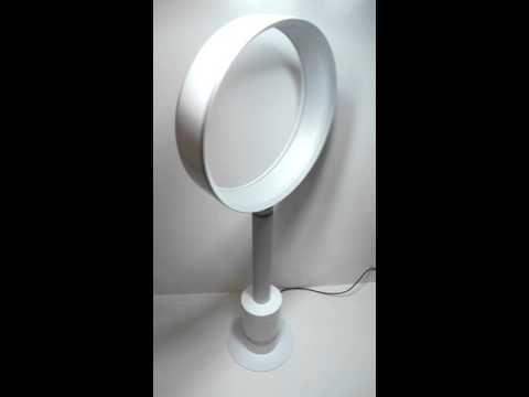 Dyson AM08 Bladeless Pedestal Fan Air Multiplier Demo