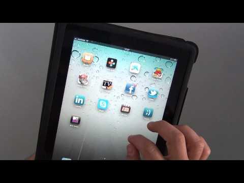 Captura de pantalla en el iPad