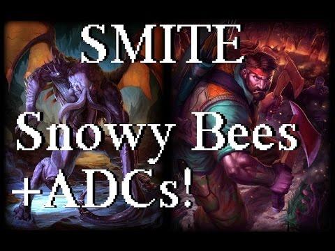 SMITE - Snowy Bees + ADCs!