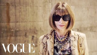 Anna Wintour Reflects on London