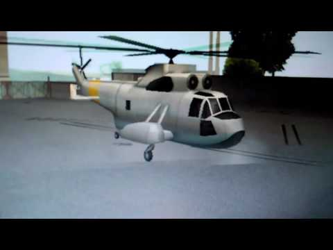 GTA SANDREAS flying LEVIATH helicopter