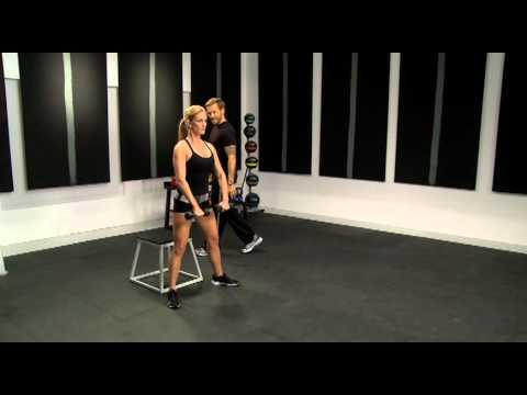 Bikini Body Countdown: Month # 2 - V Squats with Dumbbells