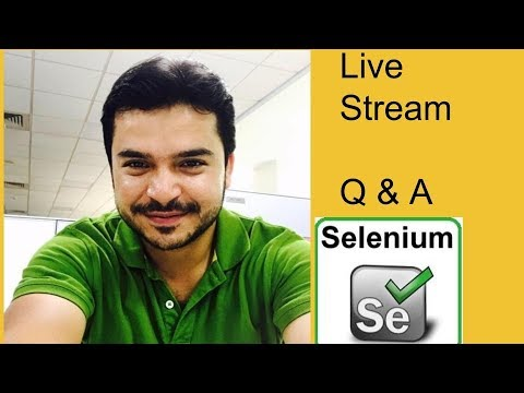 Automation Talk 1- Selenium Questions, Basic doubts and normal discussion