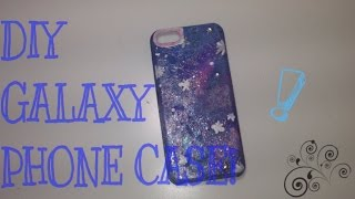 DIY GALAXY PHONE CASE TUTORIAL