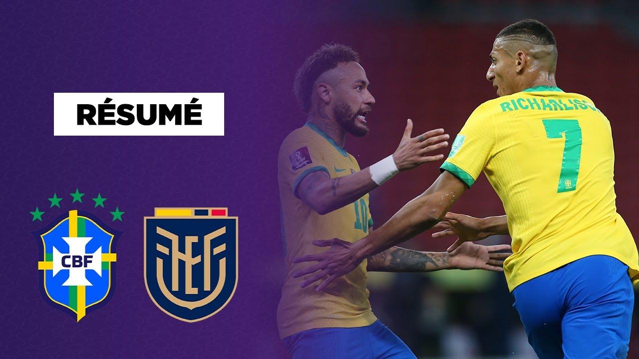 ⚽️ Résumé - Qualif. CDM 2022 : Le Brésil enchaine face à l'Equateur !