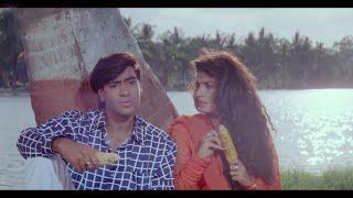 अजय देवगन ने ली रवीना की फिरकी - गैर फिल्म